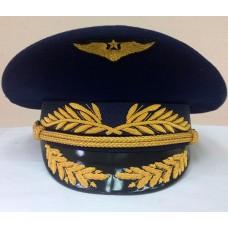 Фуражка офисная ВВС с ручной и машинной вышивкой OF018