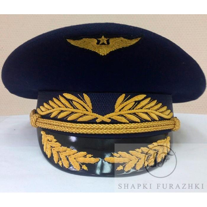 Фуражка офисная ВВС с ручной и машинной вышивкой 0OF018