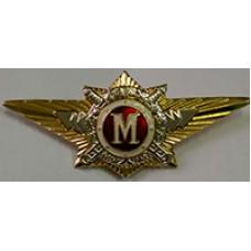 Нагрудный знак МВД 006