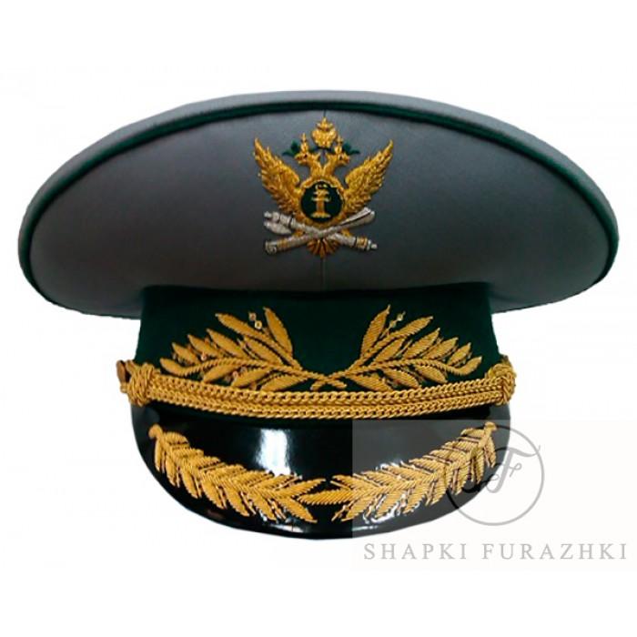 Фуражка ФССП судебных приставов парадная высшего состава G003