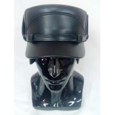 Картуз-кепи мужской из кожи Kepi013
