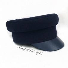 Кепи-картуз синий T119
