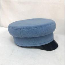 Кепи-картуз голубой флис T142