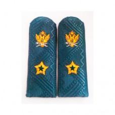 Погоны ФССП с ручной вышивкой P027