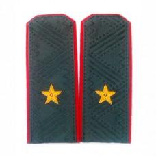 Погоны МВД с ручной вышивкой P029