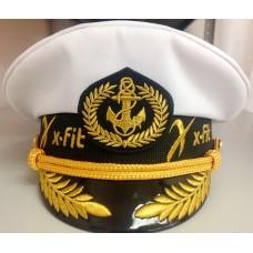 Яхтсменка с вышивкой логотипов Y184
