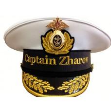 Капитанская фуражка с вышивкой Y190