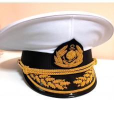 Капитанская фуражка с ручной вышивкой 231