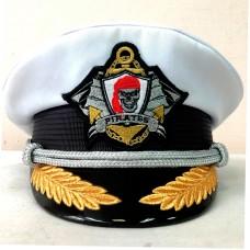 Капитанка с вышивкой кокарды Y307