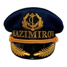 Яхтсменка с вышивкой фамилии вариант в подарок Y296