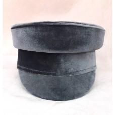Картуз-кепи бархатный T049