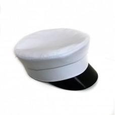 Кепи-картуз белый T009