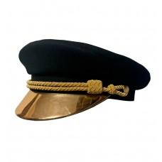 Кепи-капитанка с золотым козырьком T188