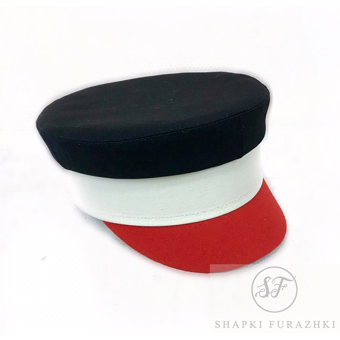 Картуз-кепи комбинированный T017