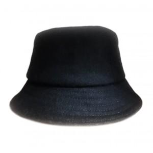 Женская панама черное сукно, T201