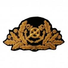 Кокарда, капитанская, золото, KRV012