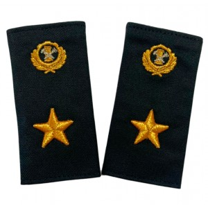 Фальш-погоны c вышивкой по индивидуальному заказу P089