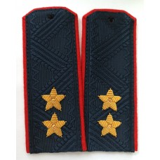 Погоны Полиции МВД, ручная вышивка P083