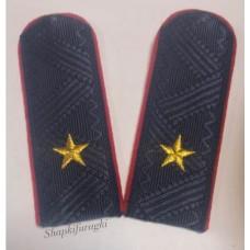 Погоны Генерал-Майор Полиции, машинная вышивка P068