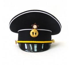 Сувенирная фуражка ВМФ черный верх S012