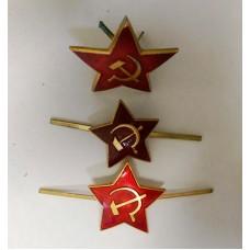Кокарды-звезды ВОВ (не новодел) VOV003