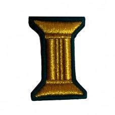 Петлицы нового образца, машинная вышивка V037