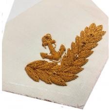 Воротник ВМФ с ручной вышивкой KRV015