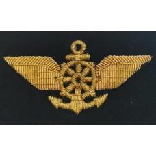 Нагрудный знак Речфлот, золото, KRV014